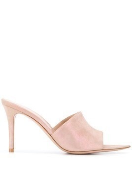 Gianvito Rossi Elle open toe mules - PINK