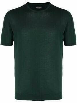 Roberto Collina fine-knit cotton T-shirt - Green