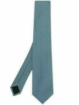 BOSS mini polka-dot tie - Blue