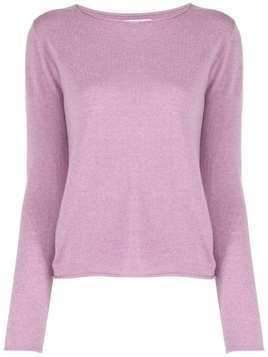 Allude knit sweater - PURPLE
