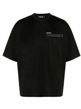 Dsquared2 patch-pocket short-sleeve T-shirt - Black