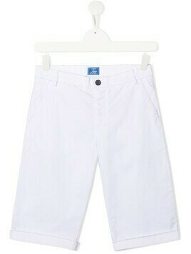 Fay Kids knee length shorts - White