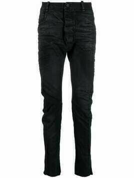 Masnada distressed skinny jeans - Black
