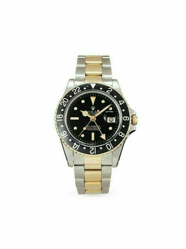 Rolex 1978 pre-owned GMT-Master II 40mm - Black