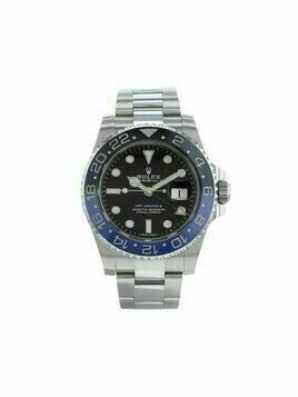 Rolex 2019 pre-owned GMT-Master II 40mm - Black