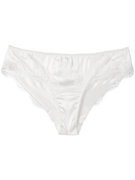 Dolce & Gabbana Underwear lace trim briefs - White