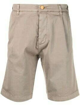 Barba stretch-cotton chino shorts - Neutrals