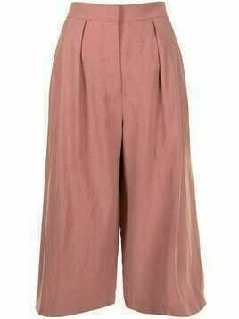 Altuzarra Cooley cropped trousers - Pink