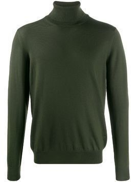 Fay turtleneck relaxed-fit jumper - Green