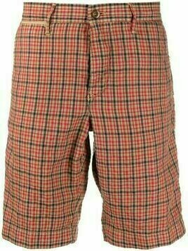 Incotex check-print Bermuda shorts - Neutrals