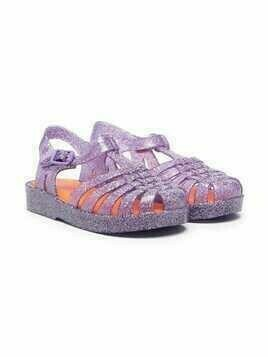 Mini Melissa Possession glittery jelly shoes - PURPLE