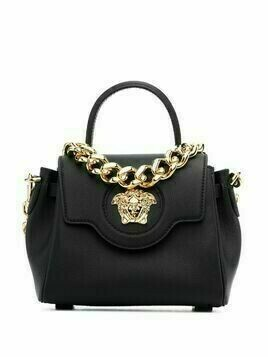 Versace Virtus top-handle tote - Black