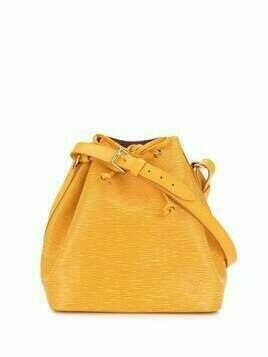 Louis Vuitton 1996 pre-owned Petit Noe bucket bag - Yellow
