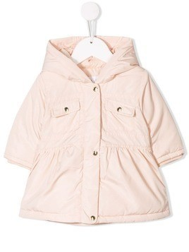 Chloé Kids hooded padded coat - Pink