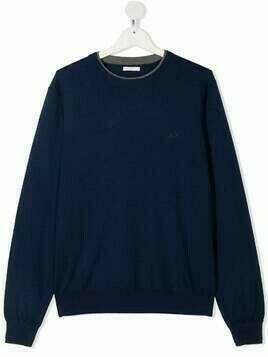 Sun 68 TEEN long-sleeve sweatshirt - Blue