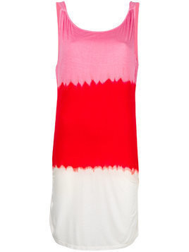 Tara Matthews Propriano colour block beach dress - Pink