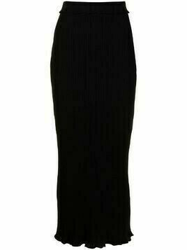 Altuzarra Turley knitted midi skirt - Black