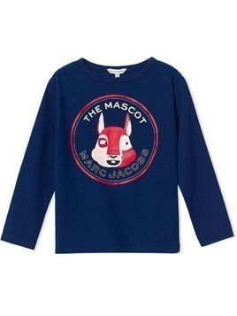 The Marc Jacobs Kids 'The Mascot' long sleeve t-shirt - Blue