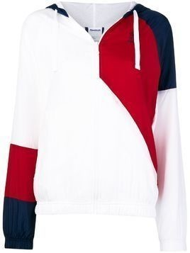 Reebok zip front sports jacket - White