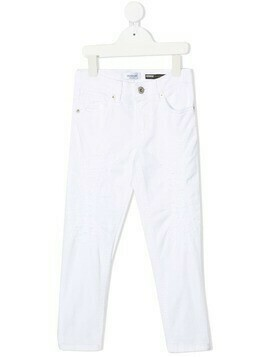 Dondup Kids slim-fit jeans - White