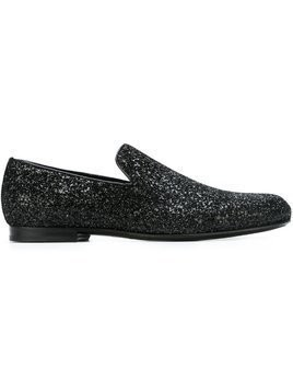 Jimmy Choo 'Sloane' slippers - Black