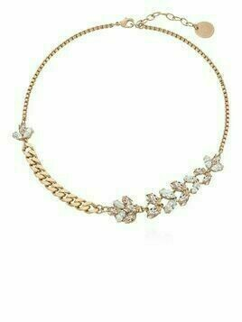Anton Heunis crystal-embellished chain necklace - Gold
