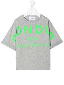 Dondup Kids TEEN graphic-print T-shirt - Grey