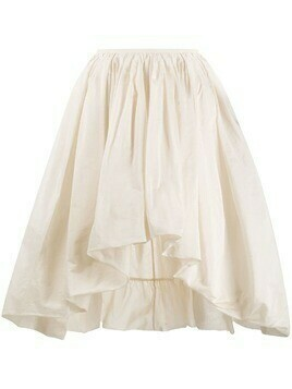 Molly Goddard full shape asymmetric skirt - Neutrals