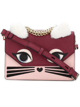Karl Lagerfeld Klassik Fun handbag - Red