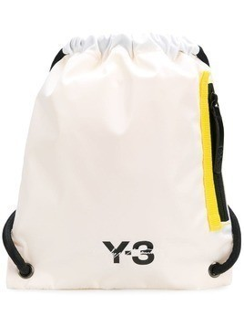 Y-3 mini logo backpack - White