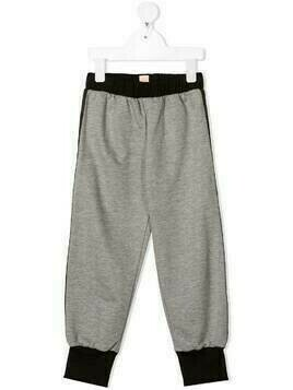 WAUW CAPOW by BANGBANG side-zip detail trousers - Grey