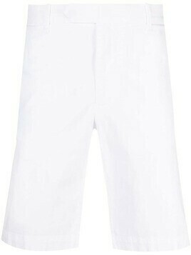 Eleventy cotton-blend chino shorts - White