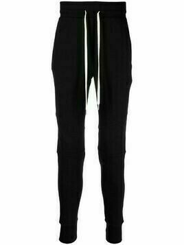 John Elliott zip-pocket track pants - Black