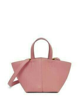 Mansur Gavriel Mini Tulipano leather bag - Pink