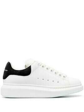 Alexander McQueen oversize leather sneakers - White