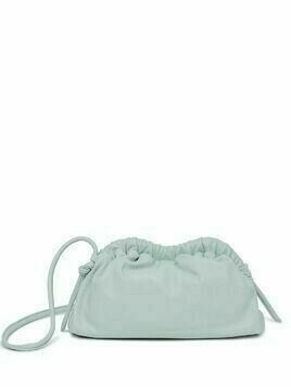 Mansur Gavriel mini cloud clutch bag - Blue