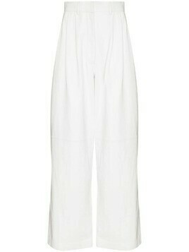 Dodo Bar Or Daryl high-waisted trousers - White