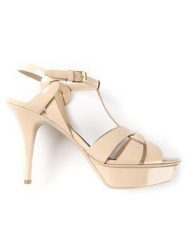 Saint Laurent 'Classic Tribute 75' sandals - Nude & Neutrals