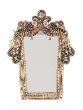 Vivetta Mirror brooch - NEUTRALS