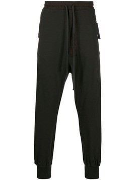 Thom Krom high waisted track pants - Brown