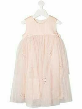 Billieblush tiered tulle layer dress - PINK