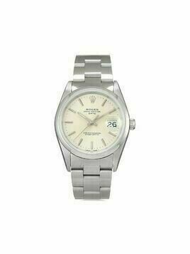 Rolex 1994 pre-owned Date 34mm - SILVER