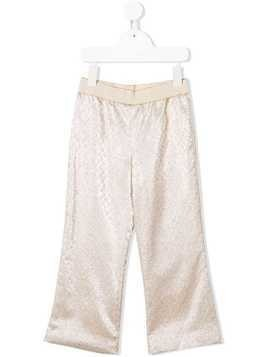 La Stupenderia metallic trousers - Gold
