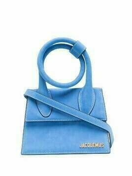 Jacquemus Le Chiquito Noeud top-handle bag - Blue