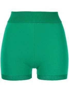 Nagnata Yoni elasticated shorts - Green