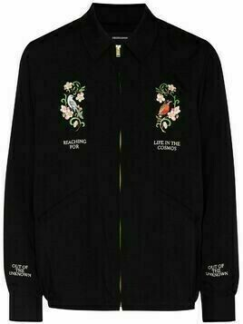 UNDERCOVER Life in The Cosmos embroidered bomber jacket - Black