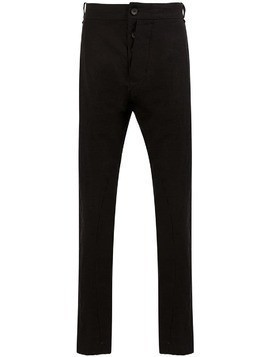 Masnada slim-leg trousers - Black