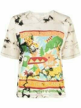 Stella McCartney x Greenpeace printed T-shirt - Neutrals