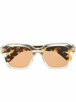 Retrosuperfuture tortoiseshell-effect sunglasses - White