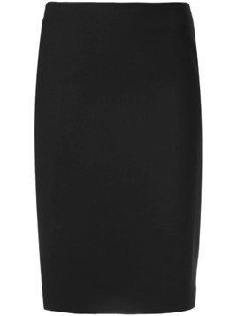 Theory knee-length skirt - Black